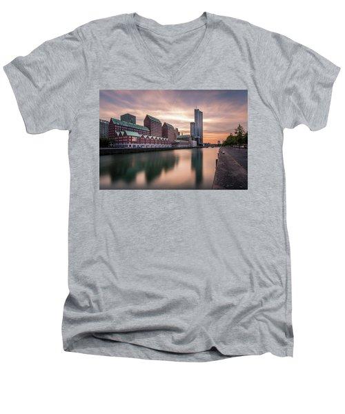 Rotterdam Spoorweghaven Men's V-Neck T-Shirt