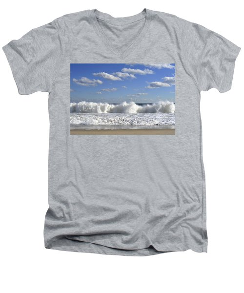 Rough Surf Jersey Shore  Men's V-Neck T-Shirt