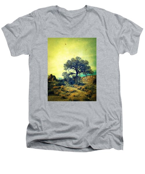 Men's V-Neck T-Shirt featuring the photograph Rough Terrain by Glenn McCarthy Art and Photography