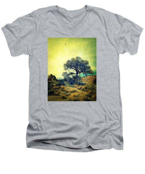 Rough Terrain Men's V-Neck T-Shirt