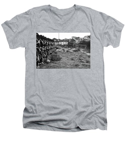 Roundstone 1 Men's V-Neck T-Shirt