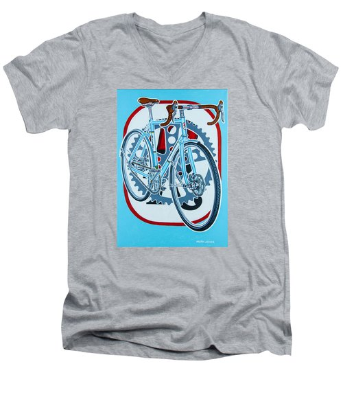 Rourke Bicycle Men's V-Neck T-Shirt