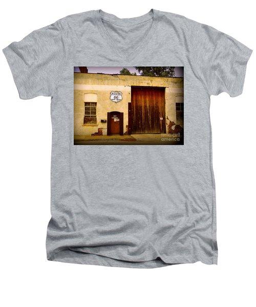 Route 66 Men's V-Neck T-Shirt