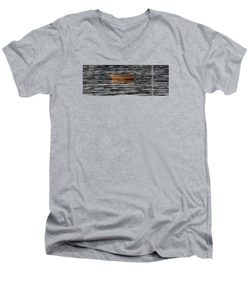 Rowboat At Rest Men's V-Neck T-Shirt