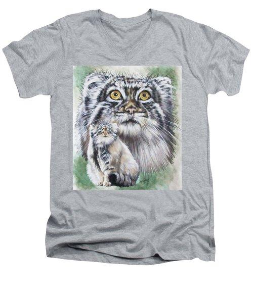 Rowdy Men's V-Neck T-Shirt