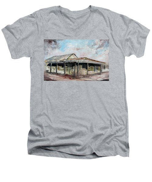 Royal Hotel, Birdsville Men's V-Neck T-Shirt
