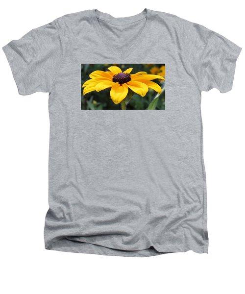 Rudbeckia Bloom Up Close Men's V-Neck T-Shirt