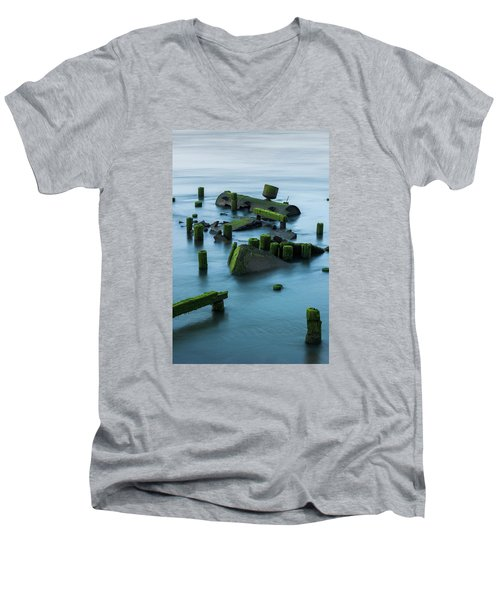 Ruins Of The Day Men's V-Neck T-Shirt