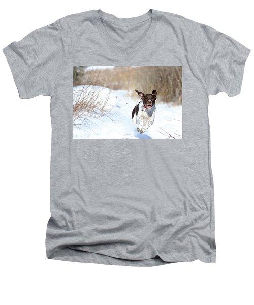 Run Millie Run Men's V-Neck T-Shirt