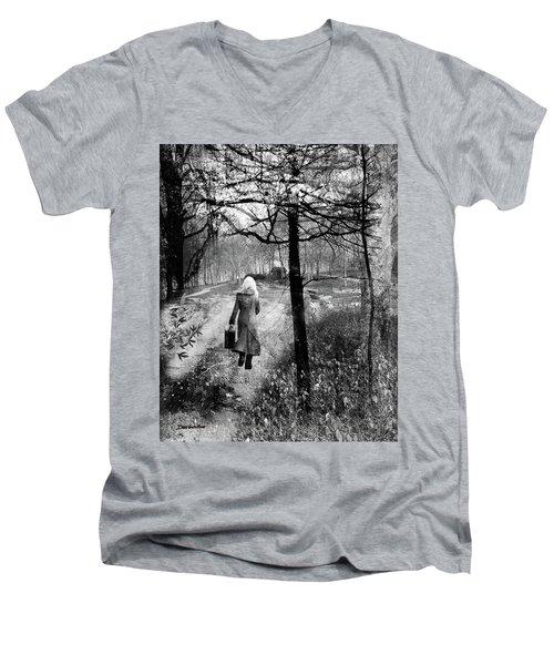 Runaway Men's V-Neck T-Shirt