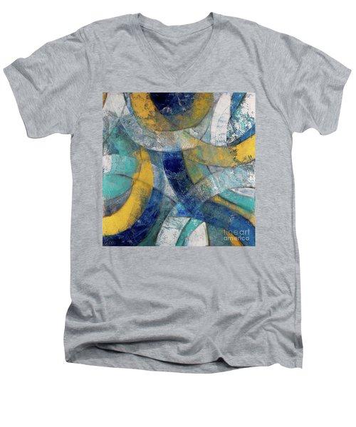 Running In Circles Men's V-Neck T-Shirt