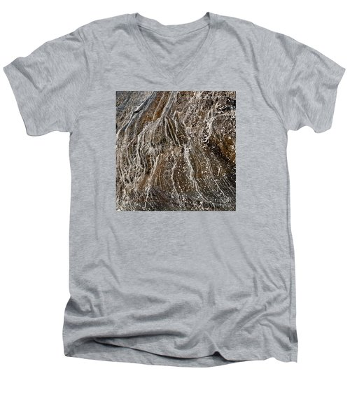 Runoff Men's V-Neck T-Shirt