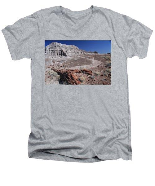 Runoff Obstacle Men's V-Neck T-Shirt