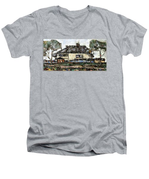 Rural Landscape 21 Men's V-Neck T-Shirt