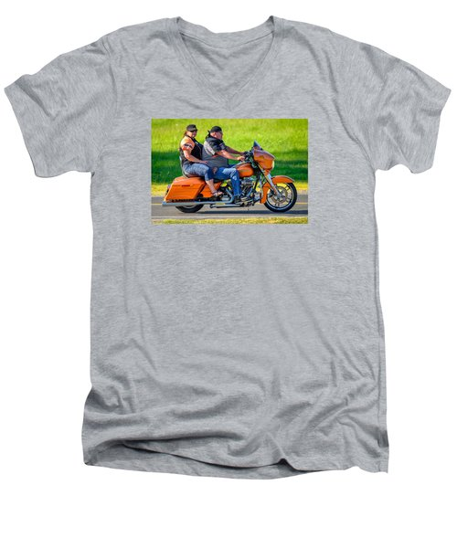 Rural Ride Men's V-Neck T-Shirt