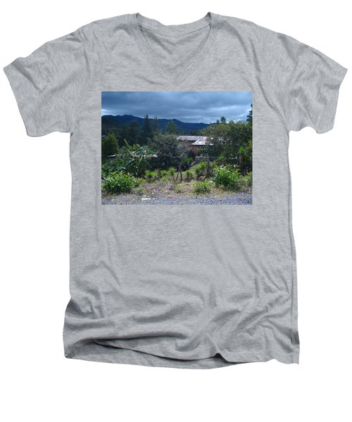 Rural Scenery 1 Men's V-Neck T-Shirt