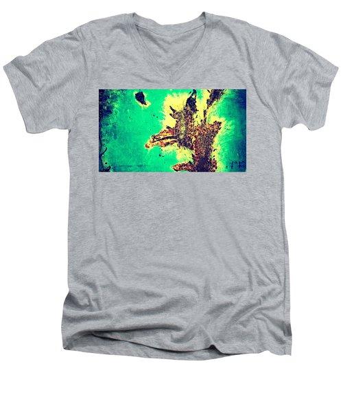 Rust 2  Men's V-Neck T-Shirt