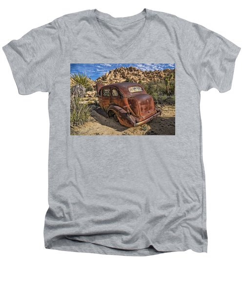 Rust Bucket Men's V-Neck T-Shirt