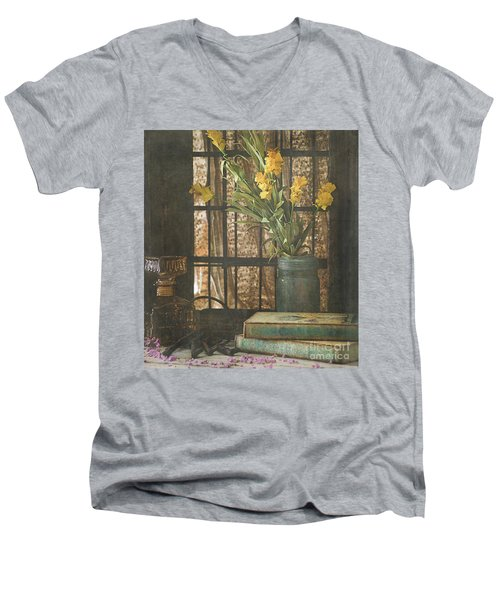 Rustic Still Life 1 Men's V-Neck T-Shirt