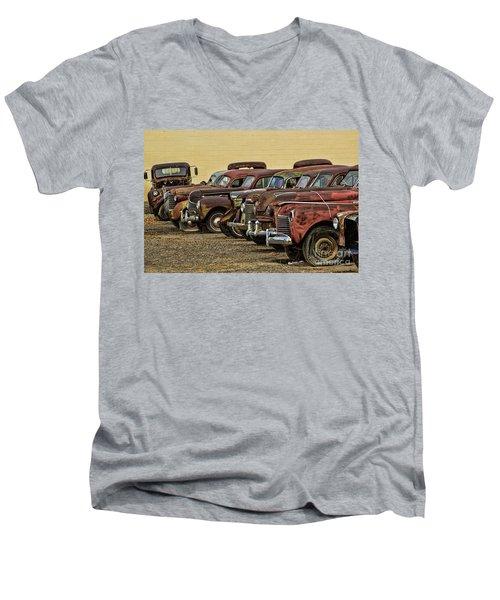 Rusty Row Men's V-Neck T-Shirt