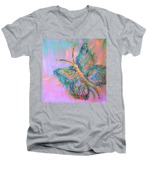 Ryans Butterfly Men's V-Neck T-Shirt