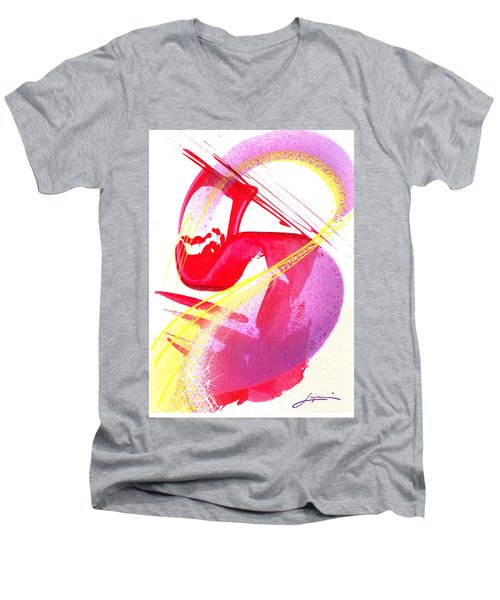 S-is For Super Men's V-Neck T-Shirt