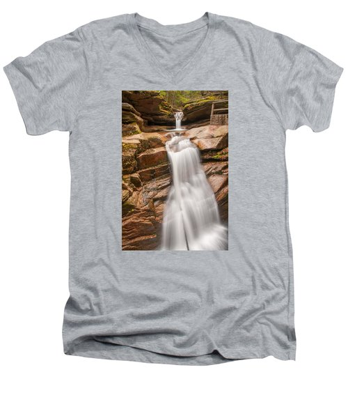 Sabbaday Falls Men's V-Neck T-Shirt