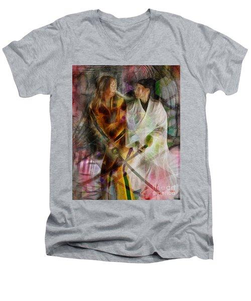 Sabre Dance Men's V-Neck T-Shirt