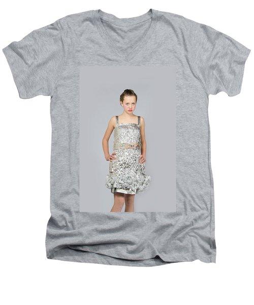 Nicoya In Dress Secondary Fashion 2 Men's V-Neck T-Shirt