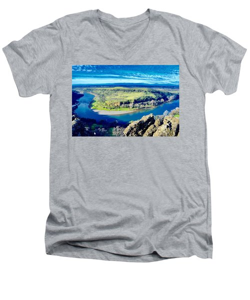 Sacramento River Men's V-Neck T-Shirt