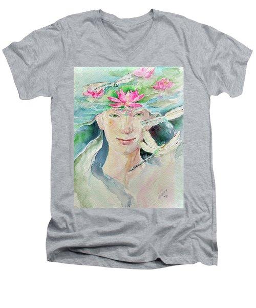 Sacred Awakening Men's V-Neck T-Shirt