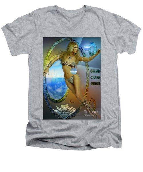 Sacred Feminine Men's V-Neck T-Shirt by Shadowlea Is