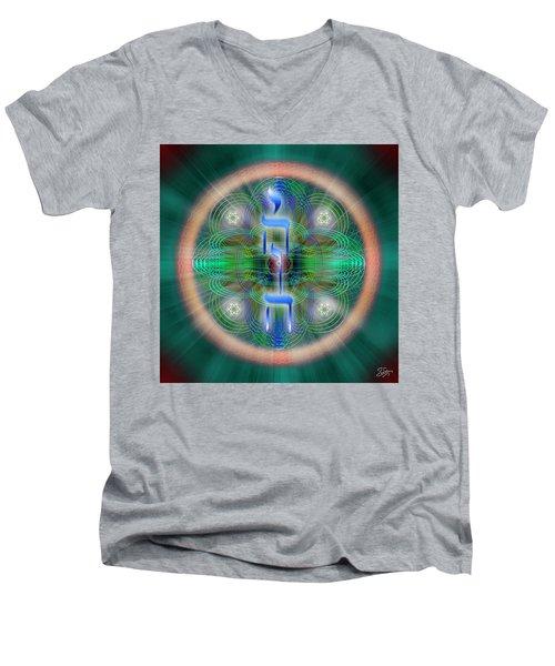 Sacred Geometry 648 Men's V-Neck T-Shirt