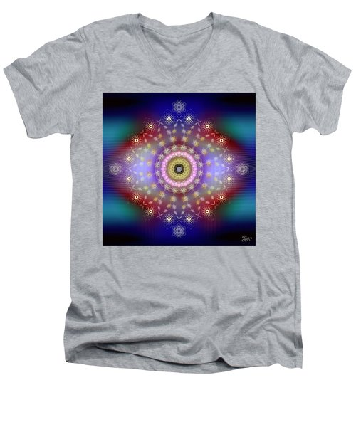 Sacred Geometry 650 Men's V-Neck T-Shirt