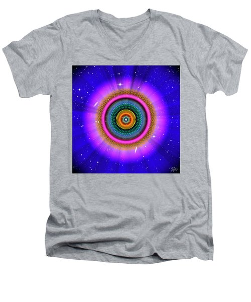 Sacred Geometry 660 Men's V-Neck T-Shirt
