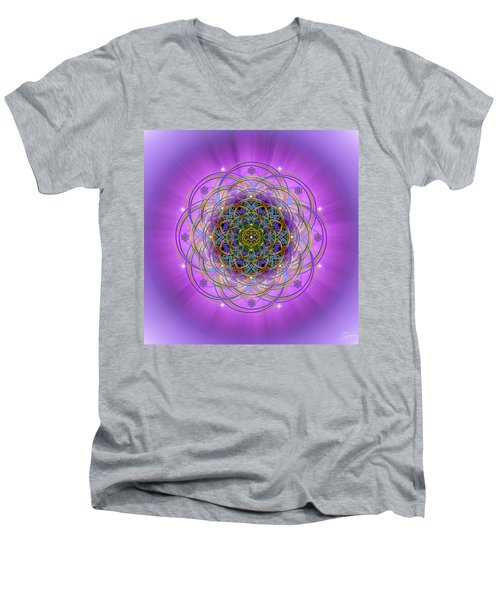 Sacred Geometry 715 Men's V-Neck T-Shirt