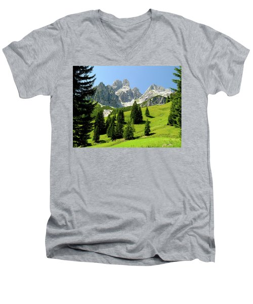Sacred Land Men's V-Neck T-Shirt