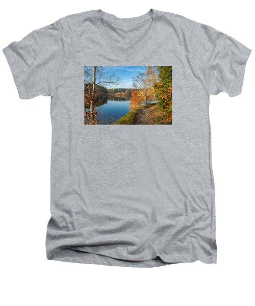 Saegemuellerteich, Harz Men's V-Neck T-Shirt