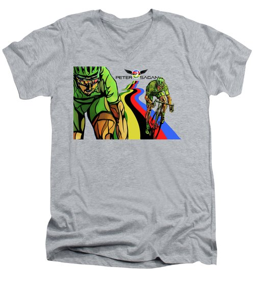 Sagan Men's V-Neck T-Shirt