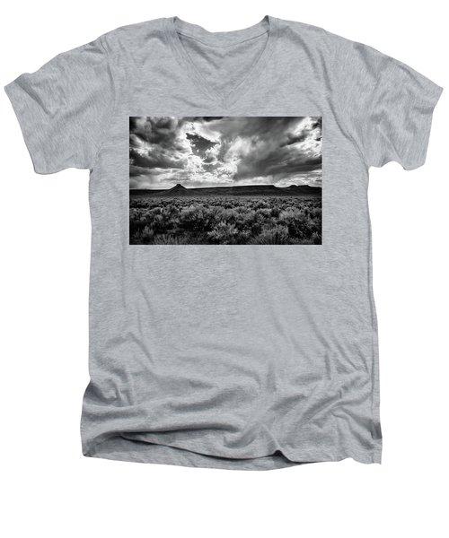 Sage And Clouds Men's V-Neck T-Shirt