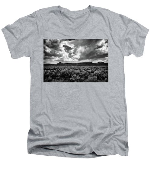 Sage And Clouds Men's V-Neck T-Shirt