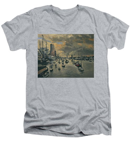 Sail Amsterdam 2015 Men's V-Neck T-Shirt