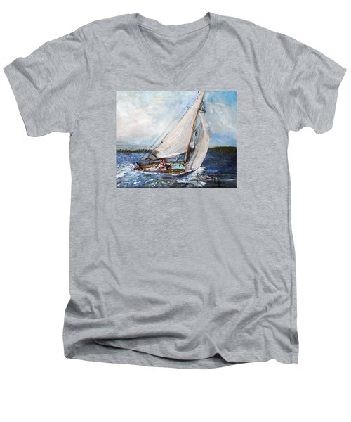 Sail Away Men's V-Neck T-Shirt