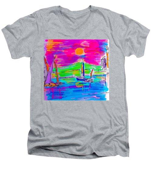 Sail Of The Century Men's V-Neck T-Shirt