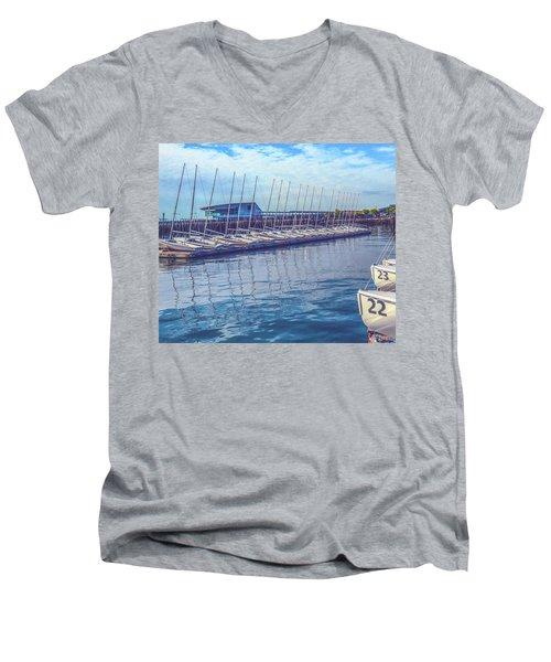 Sailboat Classes Men's V-Neck T-Shirt