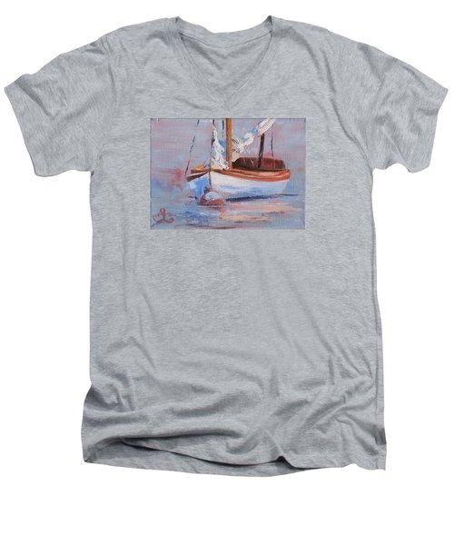 Sailboat Wisdom Men's V-Neck T-Shirt
