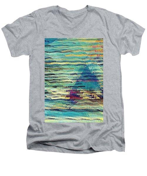 Sailing At Sunrise Men's V-Neck T-Shirt