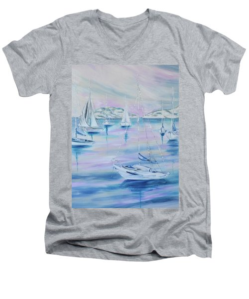 Sailing Men's V-Neck T-Shirt