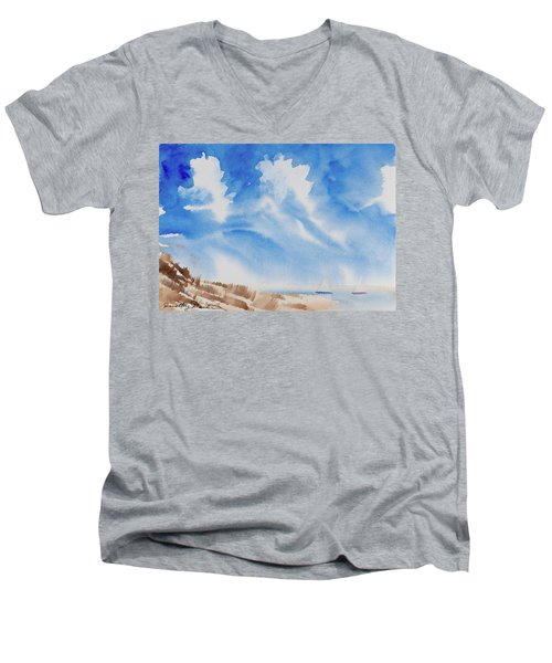 Fine Coastal Cruising Men's V-Neck T-Shirt