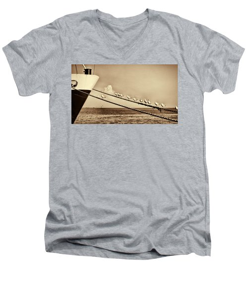 Sailors V2 Men's V-Neck T-Shirt